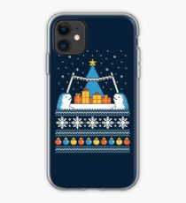 Christmas Narwhals iPhone Case