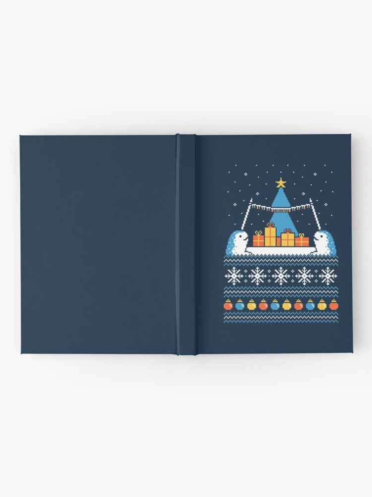 Alternate view of Christmas Narwhals Hardcover Journal