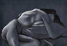 Reclining female nude #2 by Jan Szafranski