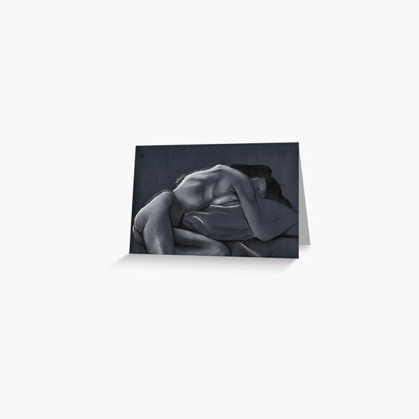 Reclining female nude #2 Greeting Card