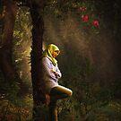Pensive... by Karen  Helgesen