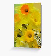 Spring Elegance Greeting Card