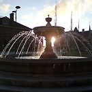 Barnstaples Fountain on the Square by Hucksty
