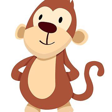 Monkey by Jekalider