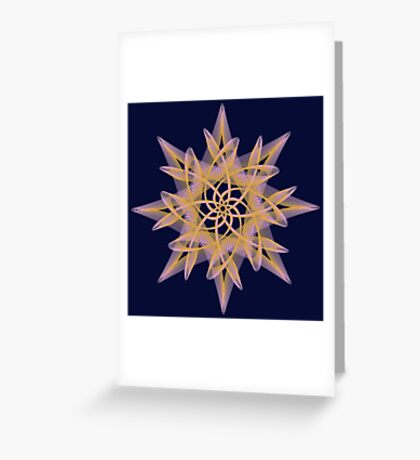 Delicate Star  Greeting Card