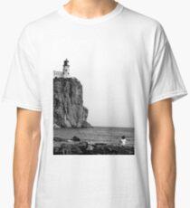 Two Harbors, MN: Little Girl & Light House Classic T-Shirt