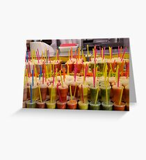 This is the Last Straw... Greeting Card