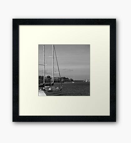 Ross Creek - Townsville Australia Framed Print