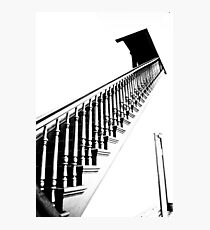 Stairs Crown Point Court House Photographic Print