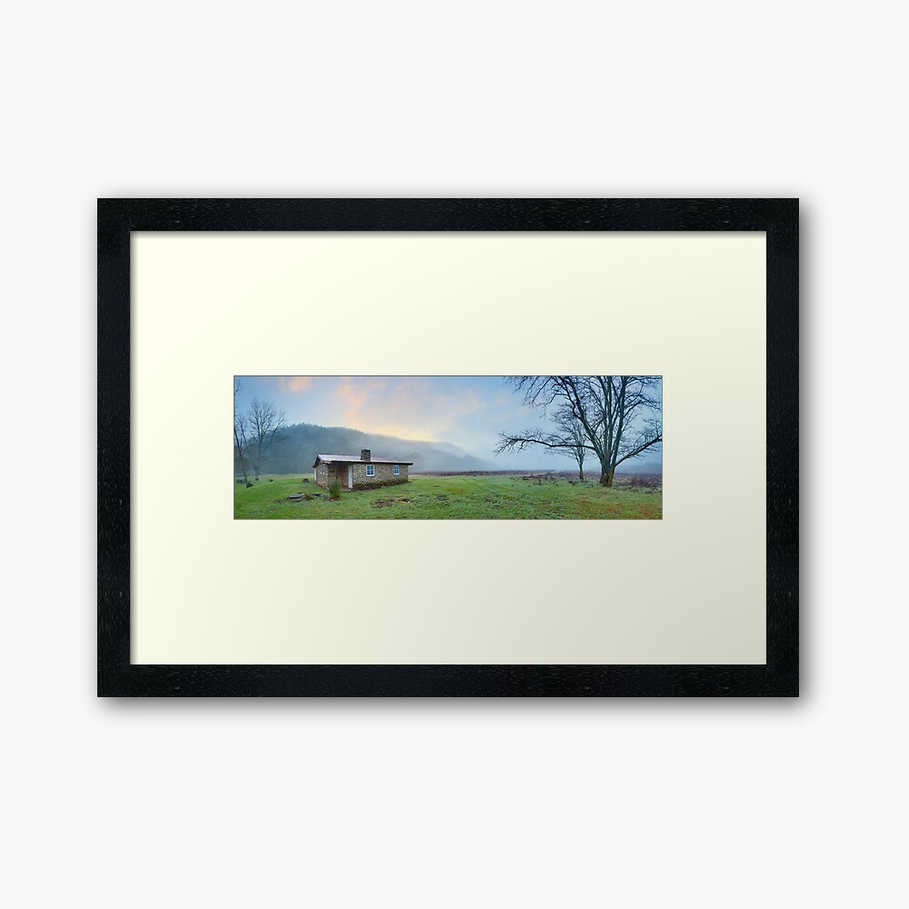 Keebles Hut, Kosciuszko National Park, New South Wales, Australia Framed Art Print