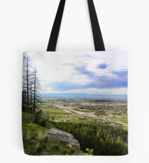 Flathead Valley Overlook Tote Bag