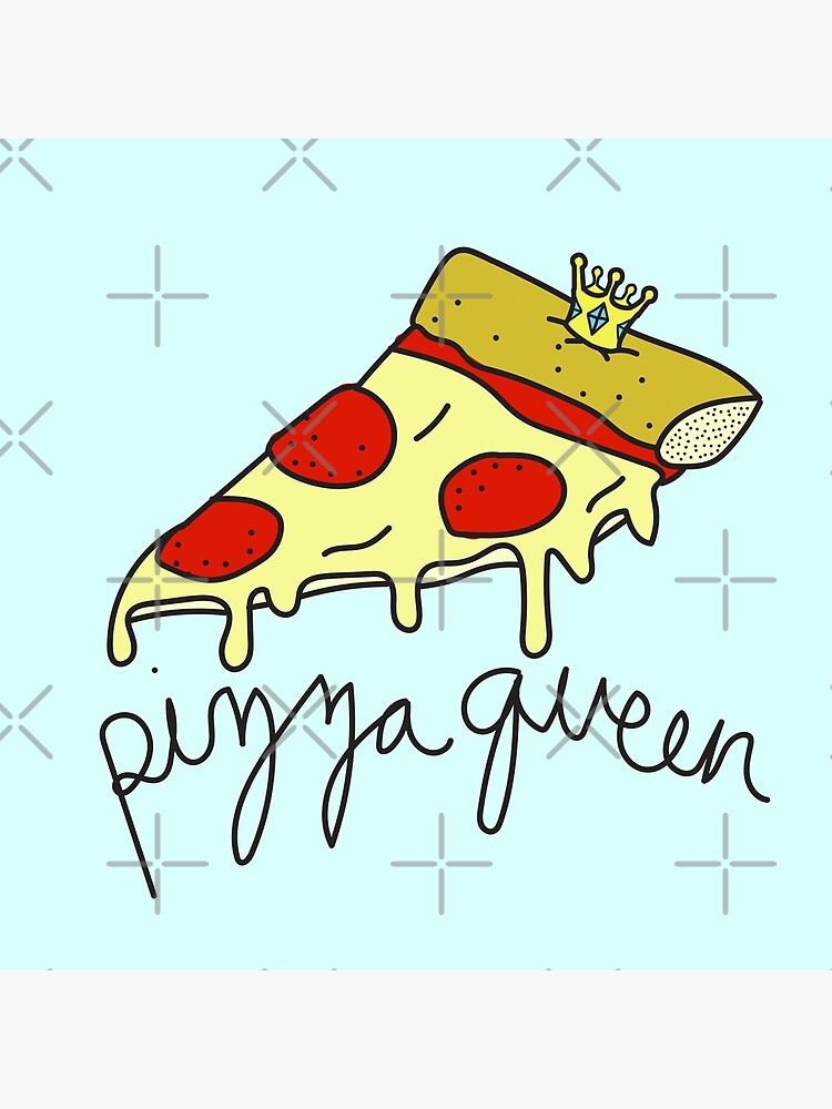 Pizza Queen ♡ ♕ Sassy / Trendy / Hipster / Tumblr Meme de saintlovely