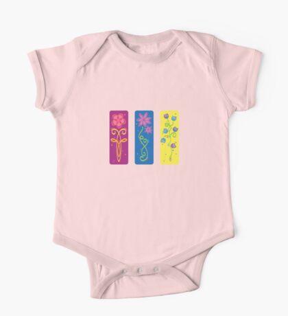flower panels, colour Kids Clothes