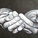 Offering Hands by Corrina McLaughlin