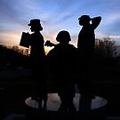 Women's Military Monument by Kent Nickell
