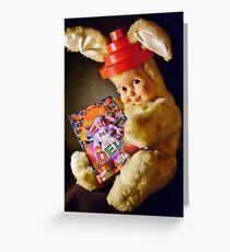 Booji Bunny Greeting Card