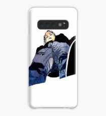 Man in jeans, ant perspective, fabric collage - faith and truth Case/Skin for Samsung Galaxy