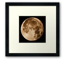 Hawaii's Super Moon Framed Print