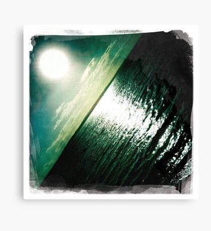 Hipsta Gradient Series- Sunset ripple effects No.2 Canvas Print