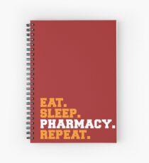 Eat. Sleep. Pharmacy. Repeat Spiral Notebook