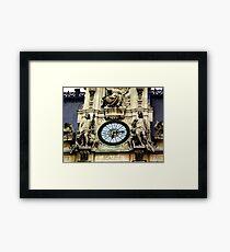 Historic Times Framed Print