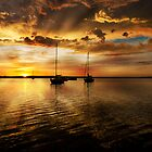 Macquarie sunrise by Dave  Gosling Designs
