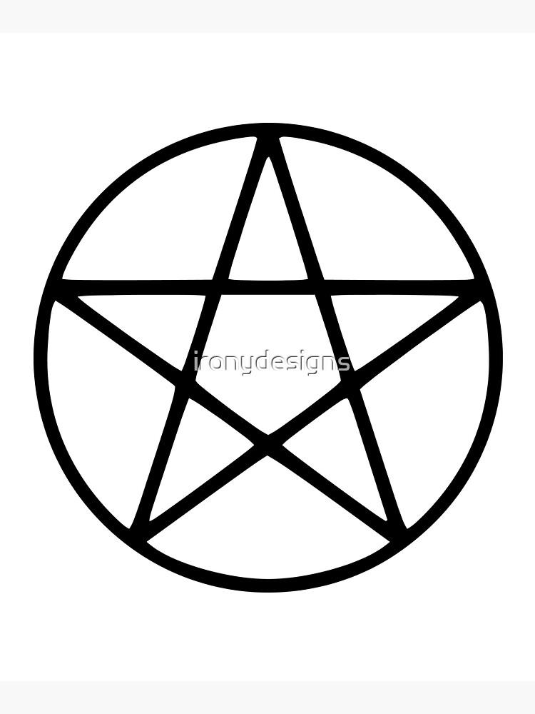 Pentagram Symbol by ironydesigns