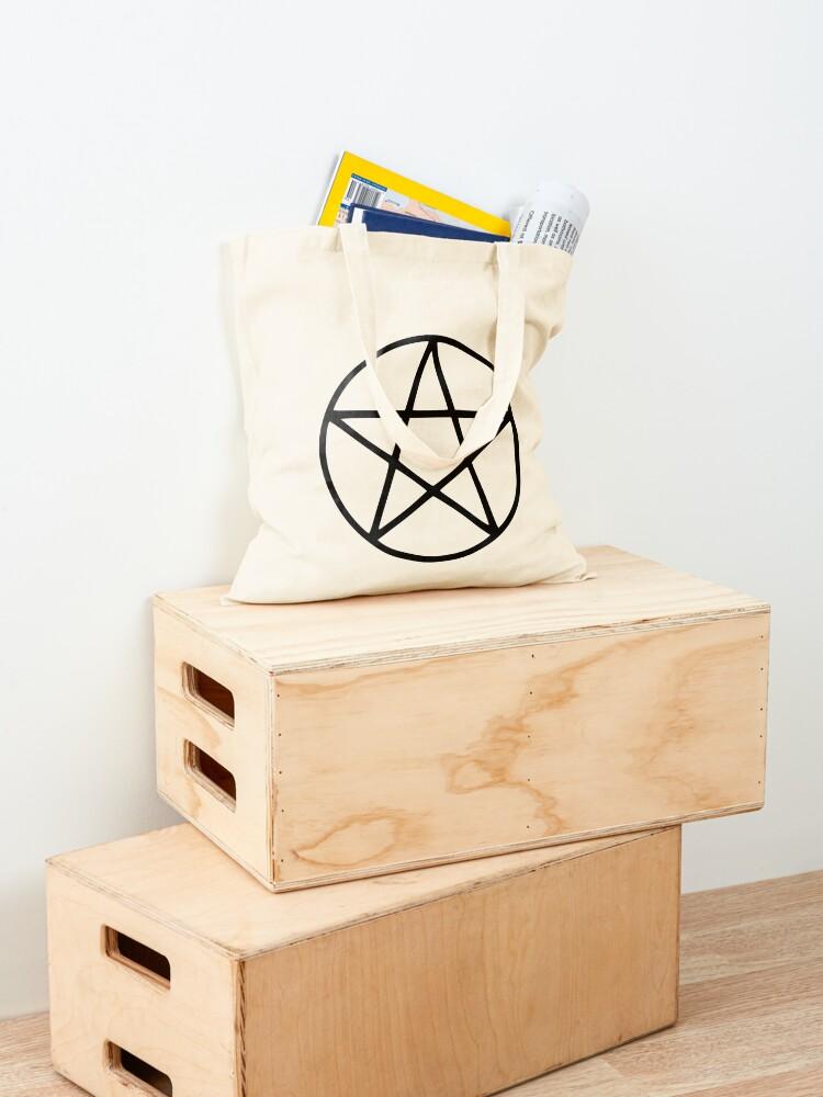 Alternate view of Pentagram Symbol Tote Bag