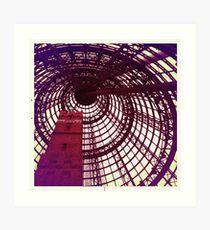 Fancy Spiral Dome Art Print