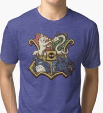 Ghibliwarts Crest Tri-blend T-Shirt
