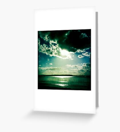 Moody Skies Series- No.2 Greeting Card