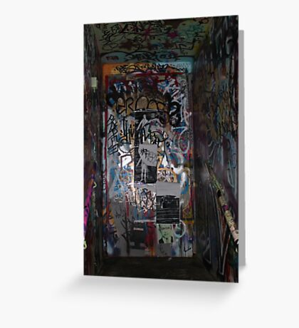 Door ways to expressions Greeting Card