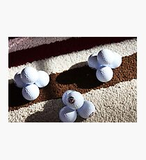Golf Ball Pyramids Photographic Print
