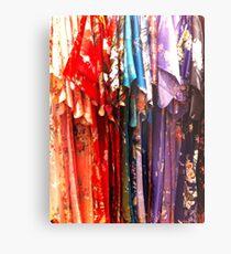 Colorful Kimonos Metal Print