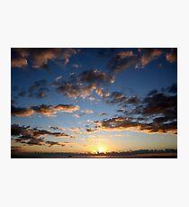 Sunrise at 6:00 am Photographic Print