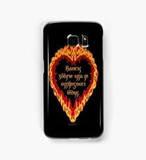 The Night is Dark and Full of Terrors (Valyrian) Samsung Galaxy Case/Skin
