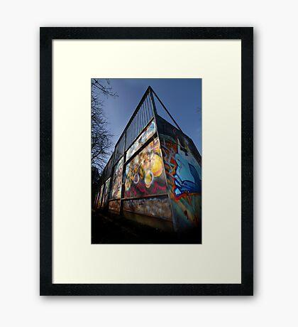 Skate Ramp - Newbury Framed Print