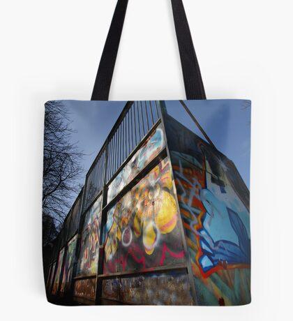 Skate Ramp - Newbury Tote Bag