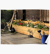 Quaint country chic Poster