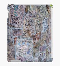 Autograph Wall iPad Case/Skin