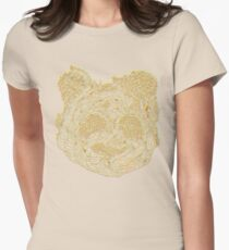 Forest Panda Tee Women's Fitted T-Shirt