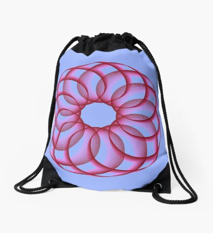 Spirograph with red Drawstring Bag