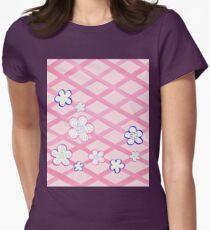 Baby Pink Garden Flowers T-Shirt