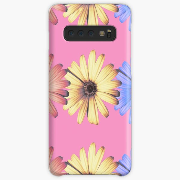 Daisies primary colors Samsung Galaxy Snap Case
