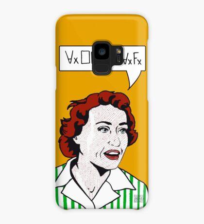 Ruth Barcan Marcus Case/Skin for Samsung Galaxy
