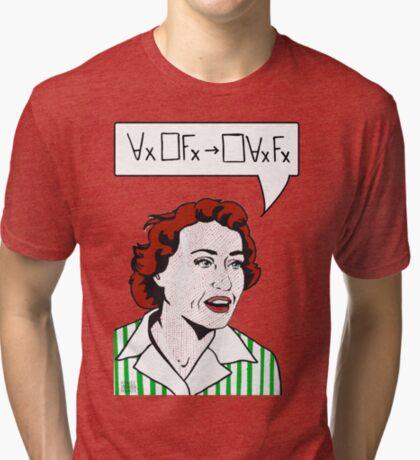 Ruth Barcan Marcus Tri-blend T-Shirt