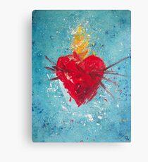 Sacred Heart of Jesus #5 Canvas Print