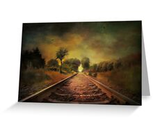 Shadows of the past........ Greeting Card