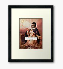St. Robot - Saintly Celebs Framed Print