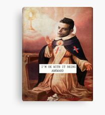 St. Robot - Saintly Celebs Canvas Print